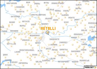 map of (( Metalli ))
