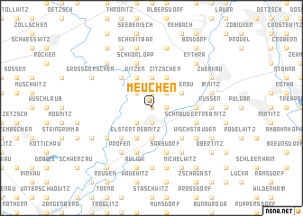 map of Meuchen