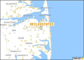 map of Meyle Estates