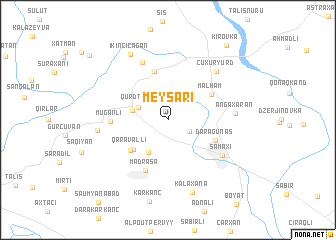 map of Meysǝri