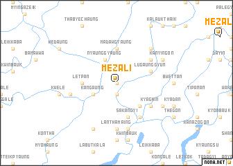 map of Mezali
