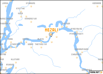 map of Mèzali