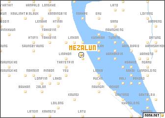 map of Mezalun