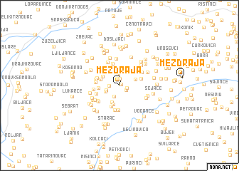 map of Mezdraja