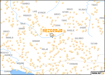 map of Mezgraja