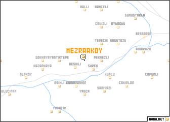 map of Mezraaköy
