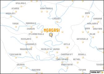 map of Mgagasi