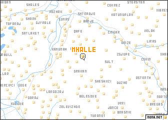 map of Mhallë