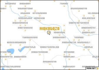 map of Miakadaza