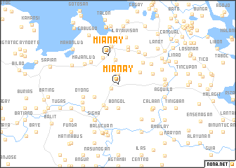 map of Mianay