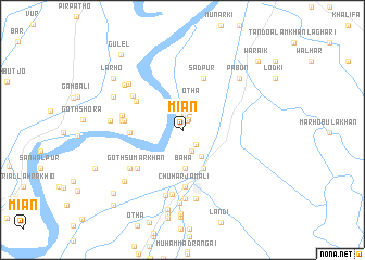map of Mian