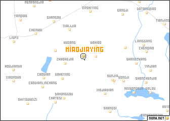 map of Miaojiaying