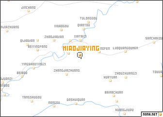map of Miaojiaying