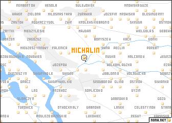 map of Michalin