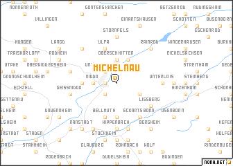 map of Michelnau