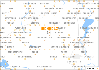 map of Michholz