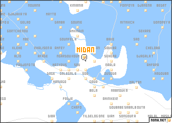 map of Midan