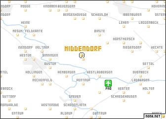 map of Middendorf