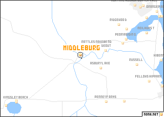 map of Middleburg