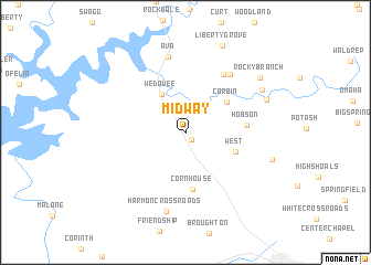 map of Midway
