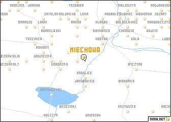 map of Miechowa