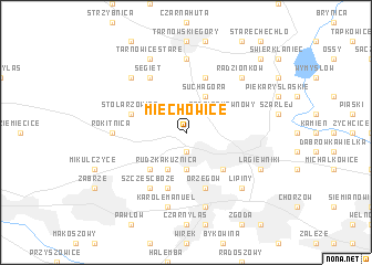 map of Miechowice