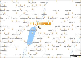 map of Miejskie Pola