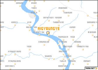 map of Migyaungye