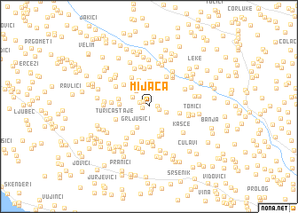 map of Mijaca