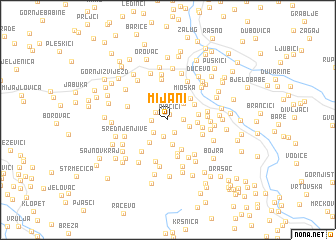 map of Mijani