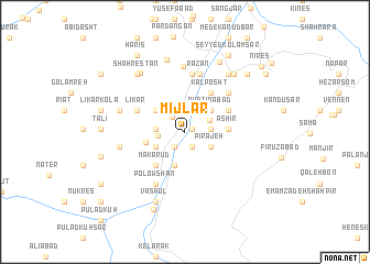 map of Mījlār