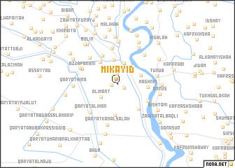 map of Mikāyid