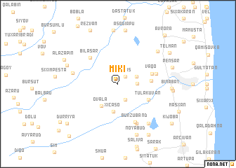 map of Miki