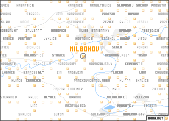 map of Milbohov