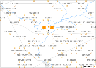 map of Milewo