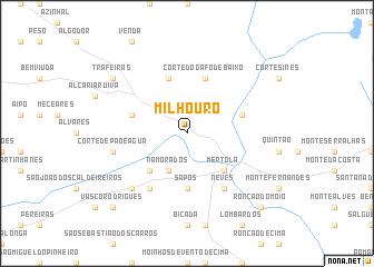 map of Milhouro