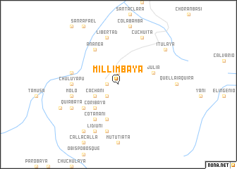 map of Millimbaya