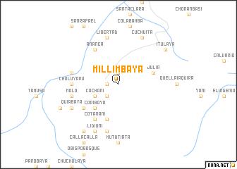 map of Millimbaya