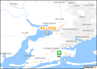 map of Millview