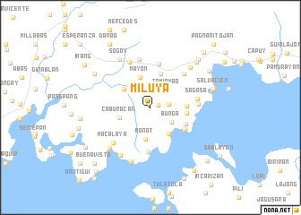 map of Miluya