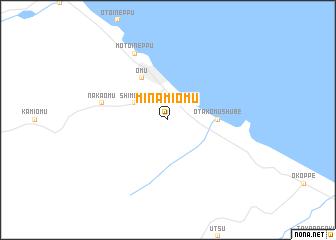 map of Minami-ōmu