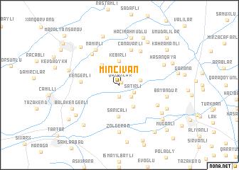 map of Mincivan