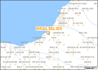 map of Mindilóglion