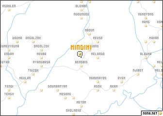 map of Mindimi