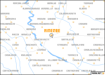 map of Minerbe