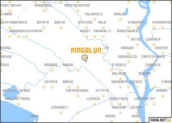 map of Mingalun