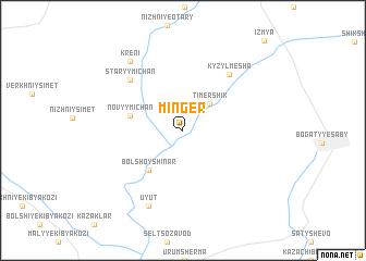 map of Minger