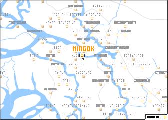 map of Mingok