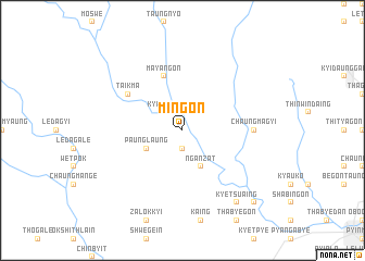 map of Mingon
