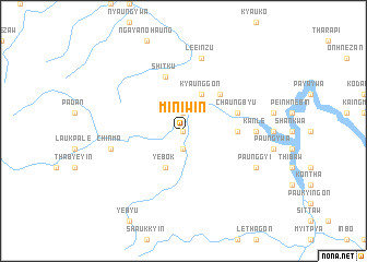 map of Miniwin